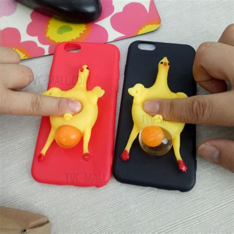 Softcase Squishy Squeeze Rabbit Soft Cover Casing Iphone 6 6s squeeze chicken lay egg tpu squishy phone cover for iphone 6s 6 black tvc mall