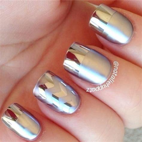 Metalic Design 31 amazing metallic nail designs page 5 of 5