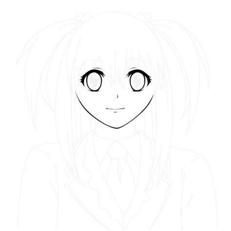 Jaket Serong Kanan 023 graphic design membuat karakter anime vector di adobe photoshop part 2