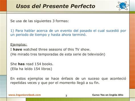 preguntas en pasado perfecto en ingles ejemplos 2 3 presente perfecto usos y ejemplos en oraciones
