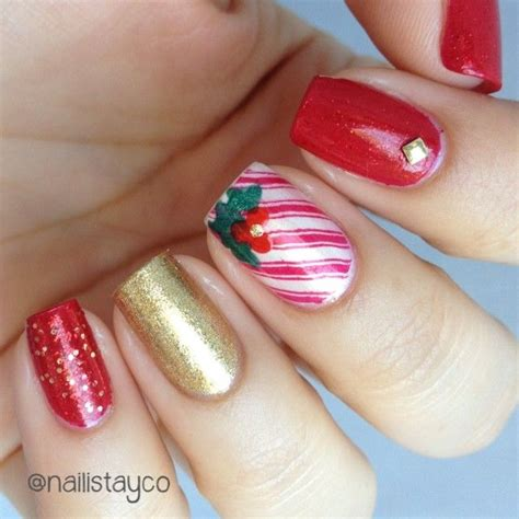 Salad Bowl Garden by Top 18 Elegant Christmas Party Nail Designs New Simple