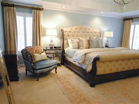 Yellow Gray Master Bedroom Paisley Mcdonald Hgtv
