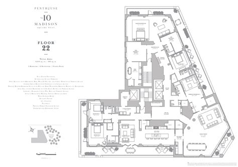 10 madison square west floor plans 10 madison square west 10 msw nyc