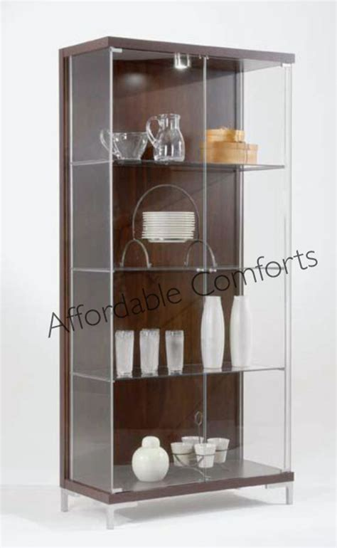 Display Shelf Lighting by Large Glass Display Cabinet Led Shelf Lighting Singles