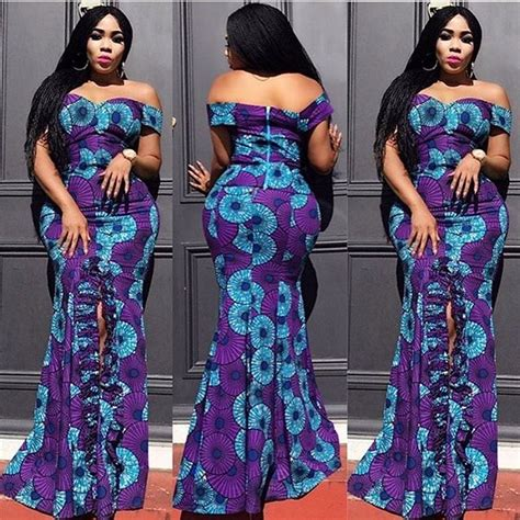 Simple Ankara Free Gowns