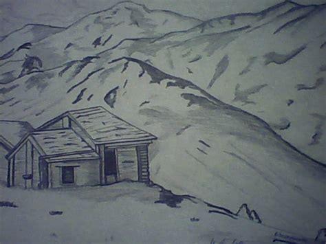 imagenes de paisajes lapiz paisajes para dibujar a lapiz faciles imagui