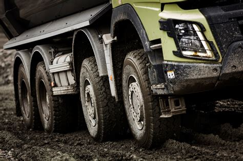 Volvo Trucks Running Footage A Volvo Fmx With Automatic