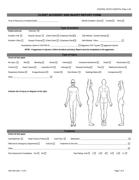 employee injury report template best photos of employee report form employee