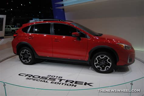 red subaru crosstrek 2016 subaru crosstrek pure red special edition priced at
