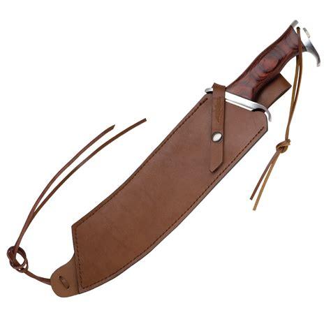 gil hibben iv combat machete blade knife gil hibben iv combat machete knife with leather sheath