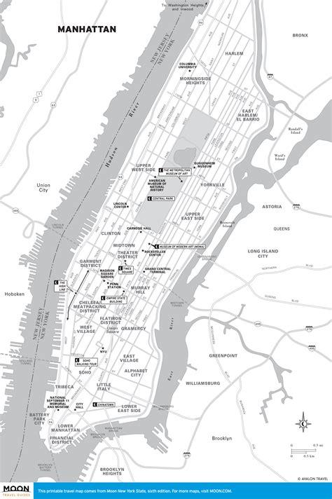 manhattan map printable travel maps of new york moon travel guides