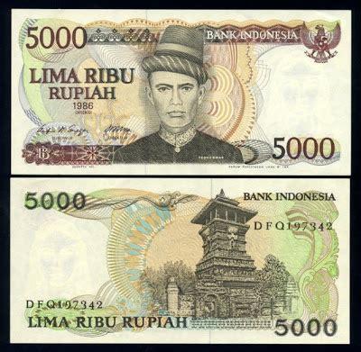 Uang Kuno Indonesia 10000 Kartini Th 1985 uang kuno 1980 1988