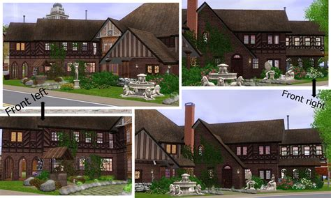 Big Brother Floor Plan mod the sims glenridge hall the mansion from tv series