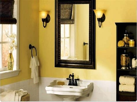Ideas For Painting Bathrooms by Accent Wall Paint Ideas Bathroom