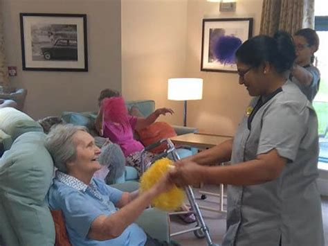 beaumont residential care home in leicester