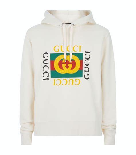 Gucci Logo Hoodie   Harrods.com