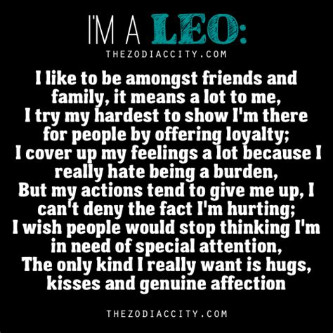 zodiac city quot i m a leo quot words from a leo cool