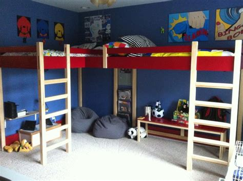 double loft beds double loft bed modern kids beds louisville