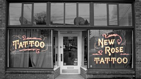 rose hill tattoo shop portland new