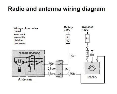 power antenna question mercedes forum