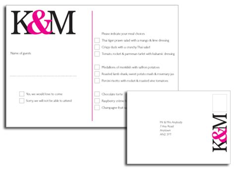 exles of wedding response cards shermilla s your guests will appreciate not