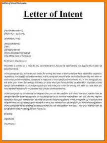 10 letter of intent for job application template
