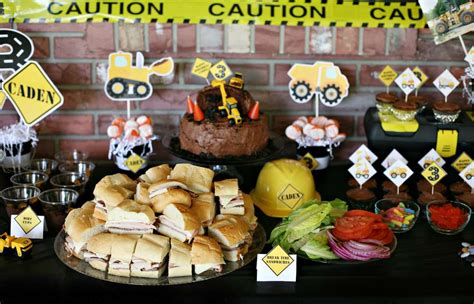 birthday themes website construction birthday party ideas photo 2 of 14 catch
