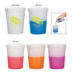 color changing cups magic color changing stadium cup 16 oz custom printed