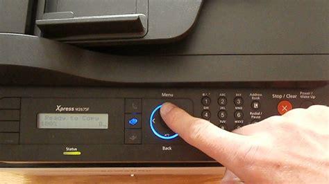 reset samsung xpress m2070f samsung xpress sl m2070f m2670 m2675 2870 m2875 print