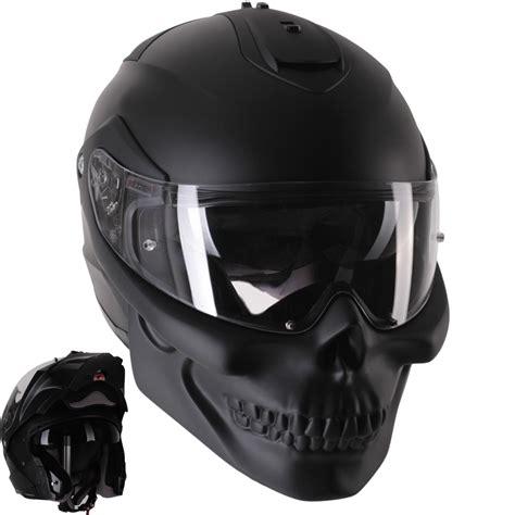 Motorradhelm Totenkopf by Modular Helmets Skull Modular Rezzeя