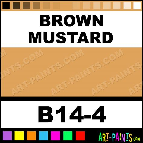 brown mustard interior exterior enamel paints b14 4 brown mustard paint brown mustard color