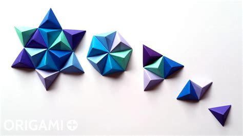 Origami Pyramid Easy - easy origami pyramid comot