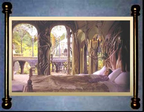 elven bedroom council of elrond 187 lotr news information 187 elven realms rivendell rooms