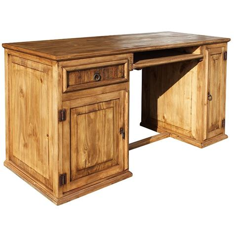 Kitchen Console Cabinet Rustic Pine Collection Computer Desk Esc18