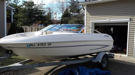 used boat trailers south jersey glastron mx 175 boat for sale from usa