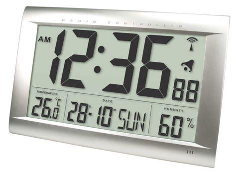 Bathroom Radio Controlled Clock He Clock 83 Balance Radio Controlled Wall Clock