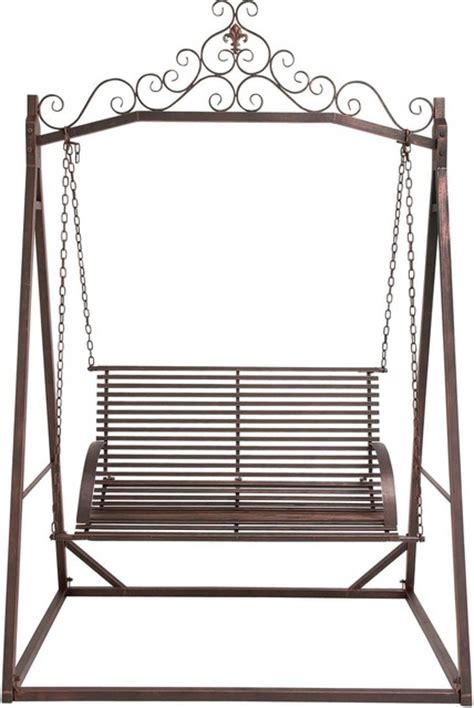 metal garden swing the cool metal garden swing modern porch swings