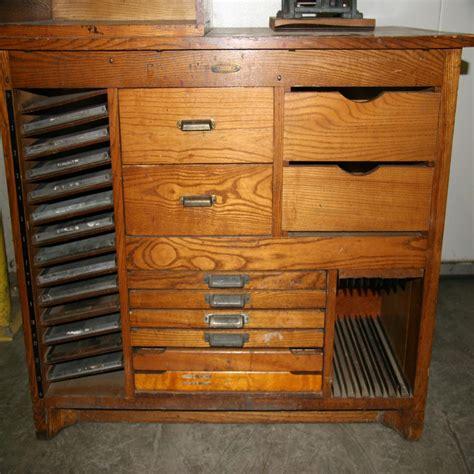 Printers Cabinet by Lot 38 Printers Cabinet Wirebids