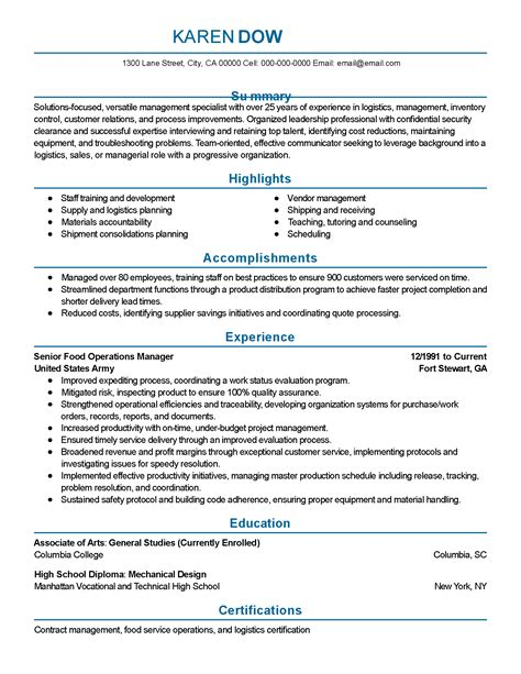 sle resume summary statements 28 images sle career