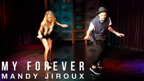 Tutorial Dance Mandy Jiroux | mandy jiroux my forever dance tutorial with nick