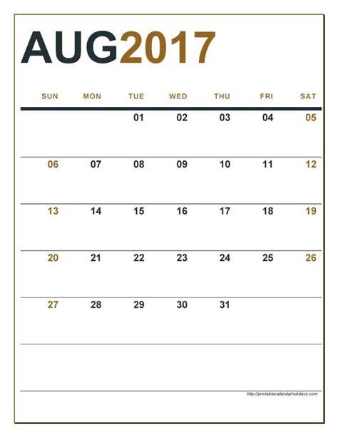 printable editable calendars 2017 editable calendar august 2017 calendar printable 2017