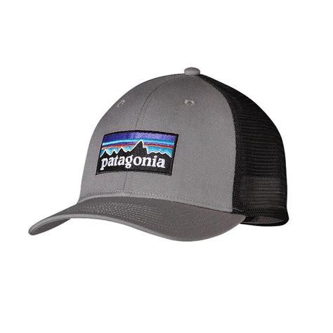 Trucker Hat Or Patagonia brand new patagonia p6 logo trucker hat drifter grey adjustable snapback