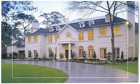 Custom Estate Home Plans by Brick One Story House Plans Traditional Brick Home Designs