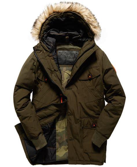 Parka Army Six Pocket superdry everest coat s jackets