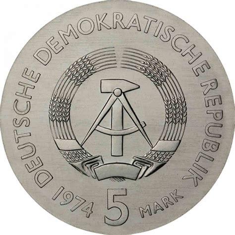 Ddr Jerman German Shp 1974 25 Jahrerat Fur Gegenseitige Mint german democratic republic 5 gdr 1974 b u philipp