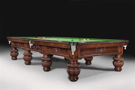 Antique Pool Table a magnificent decorative antique billiard snooker pool