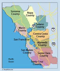 california bay area map service area journey