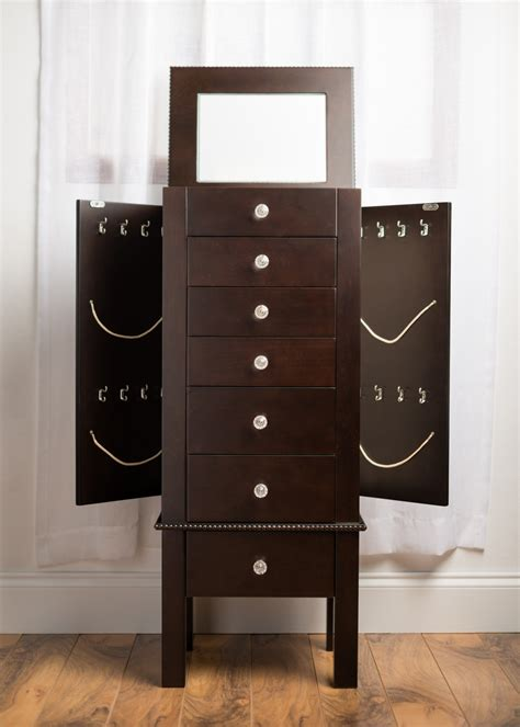 hives and honey jewelry armoire hannah jewelry armoire espresso hives and honey
