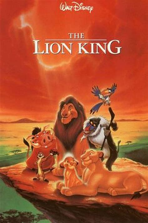 film cartoon lion king popcorn moment cultivate good habits in your kid through