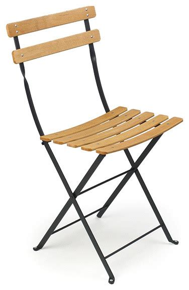 Fermob Bistro Chair Fermob Bistro Folding Chair Wood Slats Modern Living Room Chairs By Horne